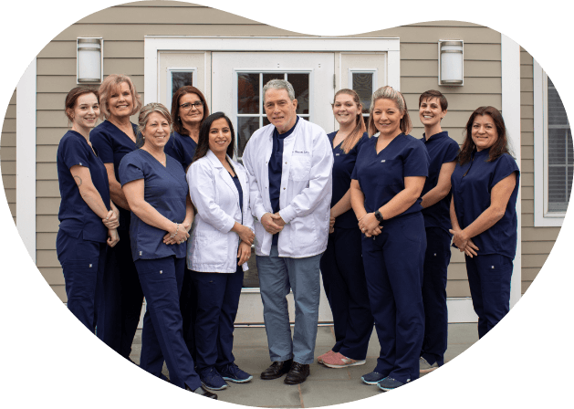 The Salmon Brook Dental team